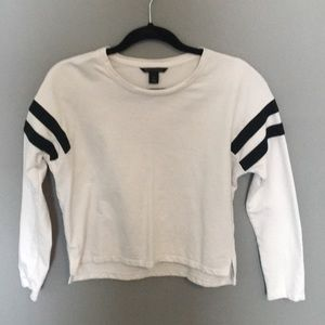 Varsity Striped Long Sleeve Tee